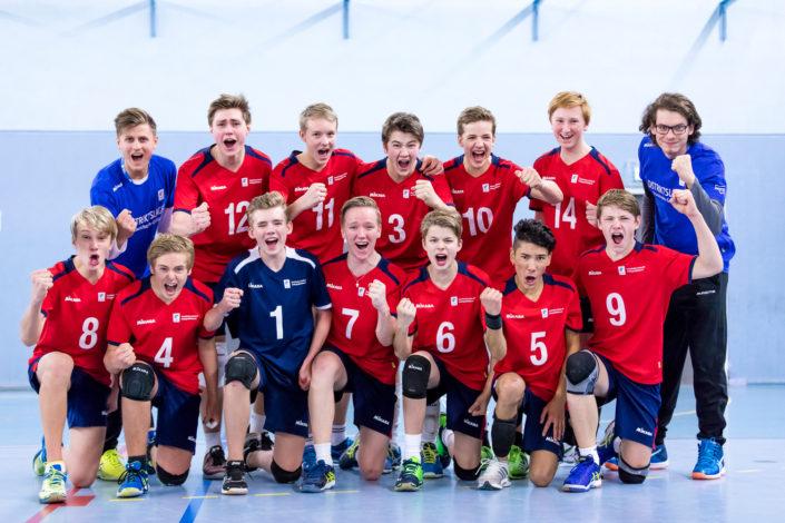 Volleyboll Grand Prix i Uppsala / Fyrishov Foto: falkenbergsbild.se